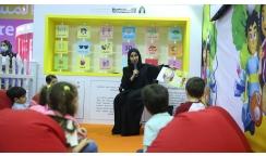 المكتب الثقافي والإعلامي يشارك في المهرجان القرائي للطفل